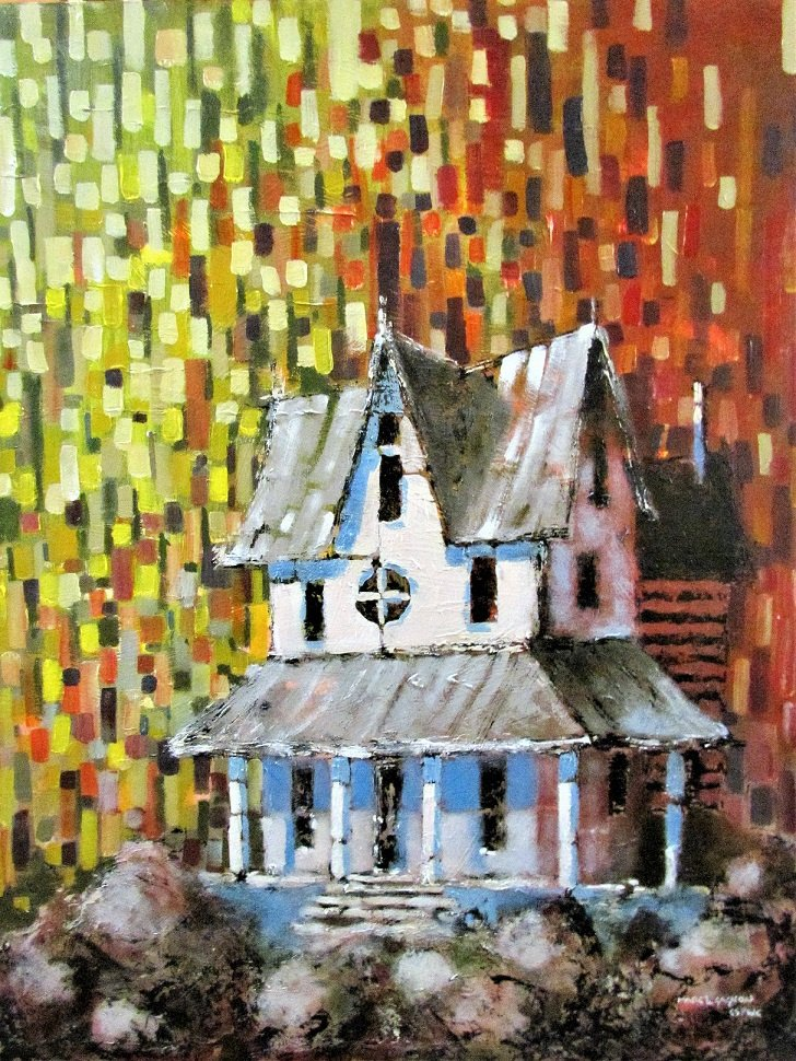 A Summer House Acrylic