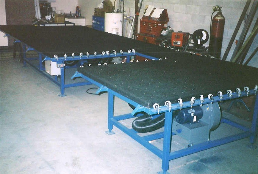 Air Seaming Table