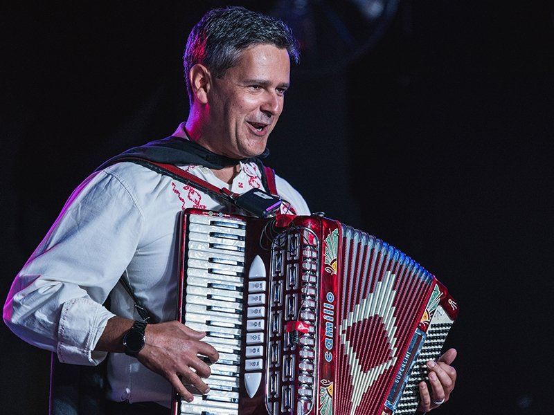 Folklorama Accordian Player