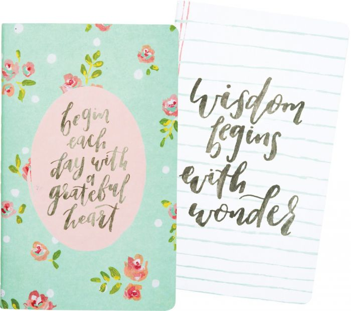 "Set of two notebooks One with 40-page unlined and one with 40 pages lined  5"" x 8"" $9.99 SALE $5 4 available"