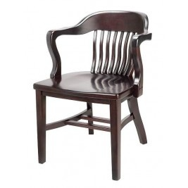 Principal Arm Chair, wood seat