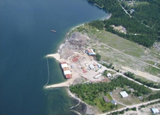 Here is a great aerial shot of the vessel and build site taken on June 29, 2013.  We are very thankful to a local pilot for sending us some photos!
