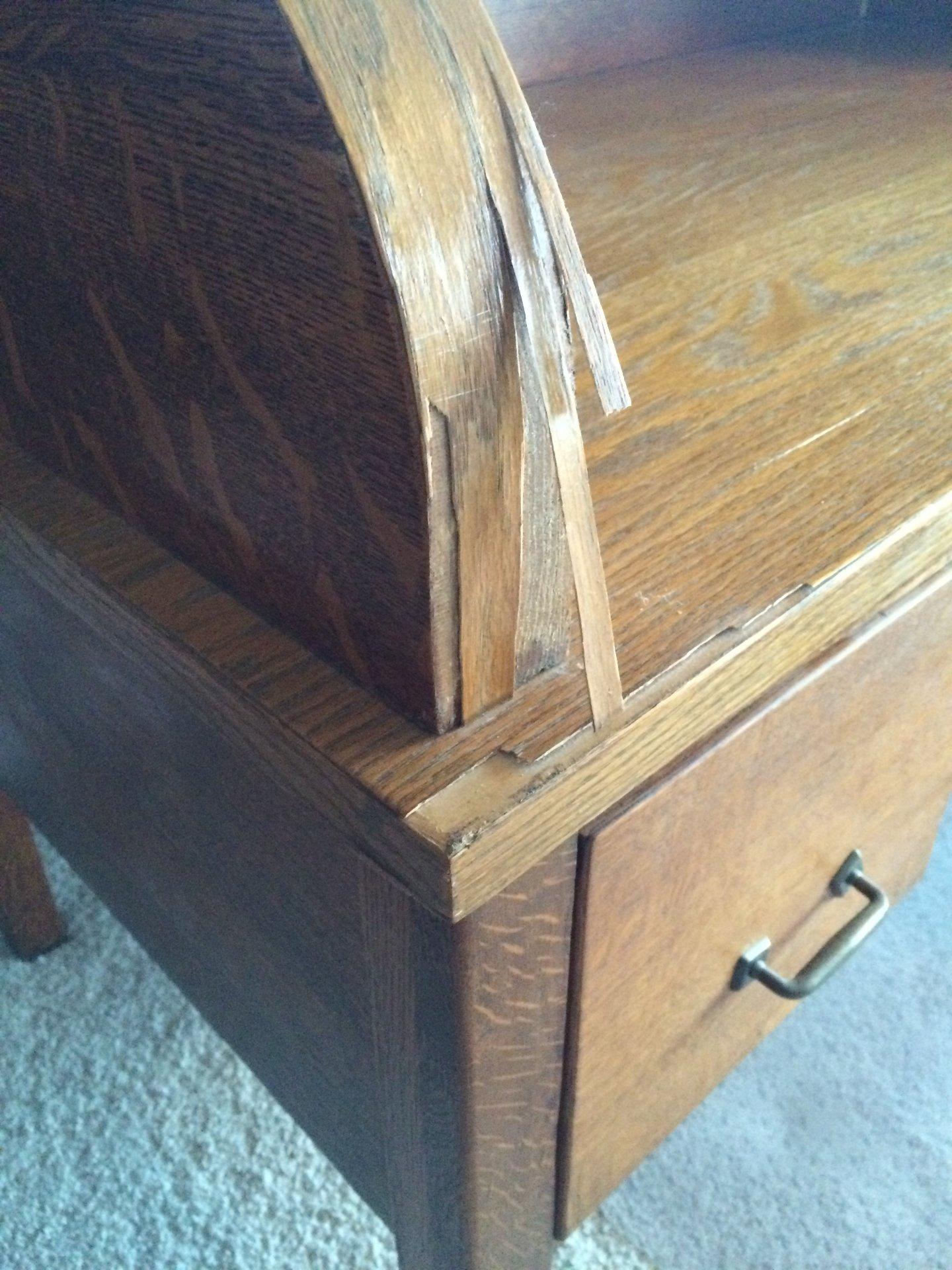 Extensive veneer problems