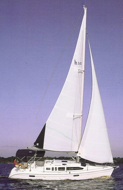 HUNTER 340 WIND SPIRIT BOAT #4