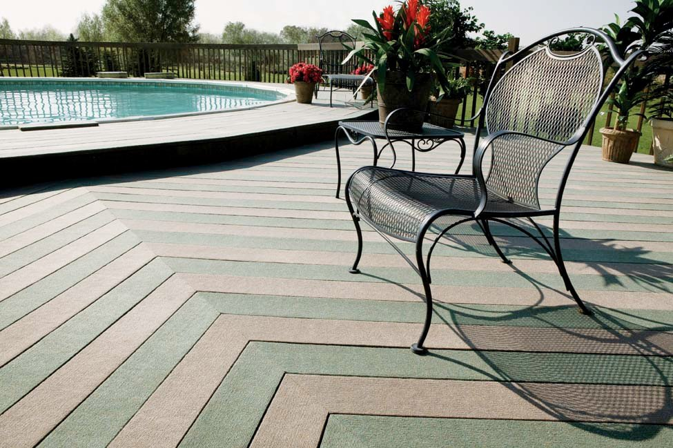 DeckSTRIP™ Patio Deck Carpet