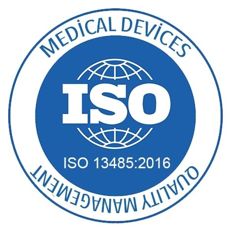ISO 13485:2016 medical device certification logo