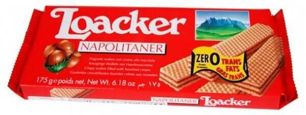 LK175N Loacker hazelnut wafers 175 gr