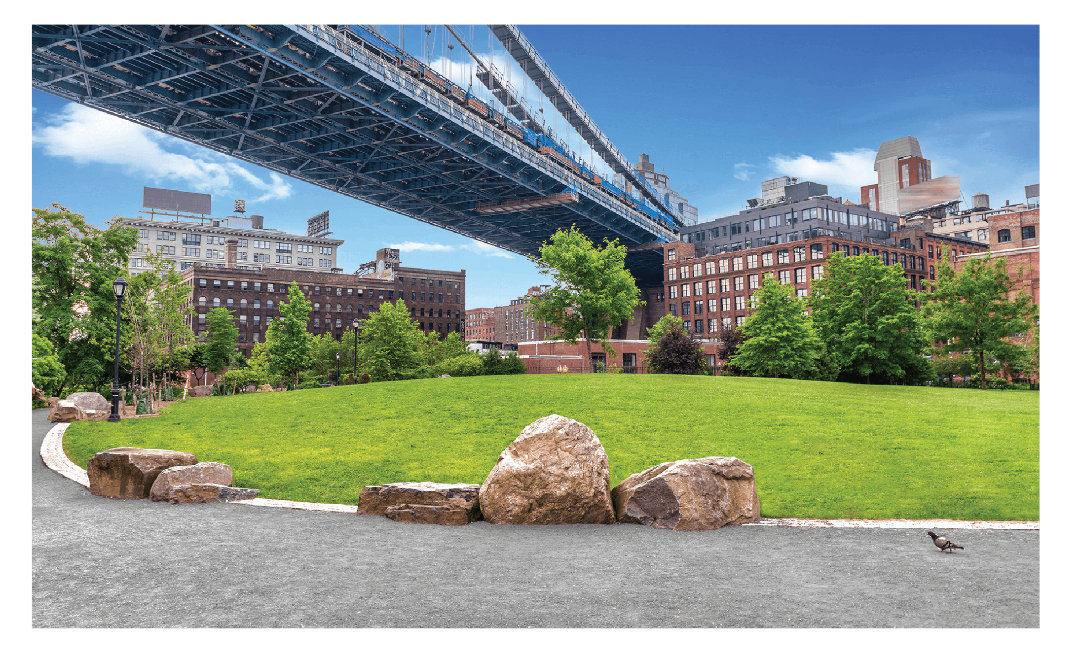 Brooklyn Bridge Park in Brooklyn, NY