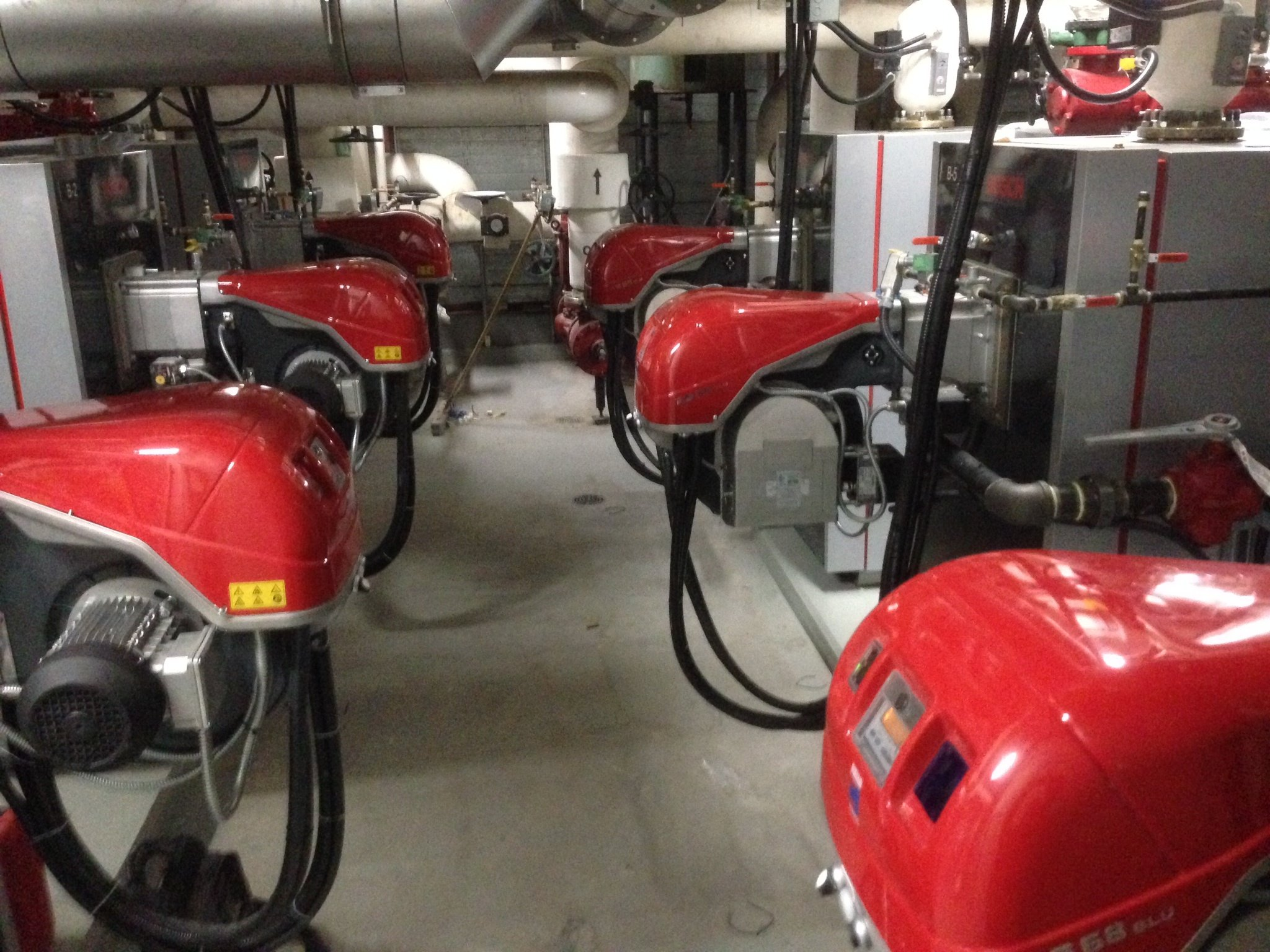 Shaw Court Retrofit-Riello Condensing Boilers & Low-Not Power Burners