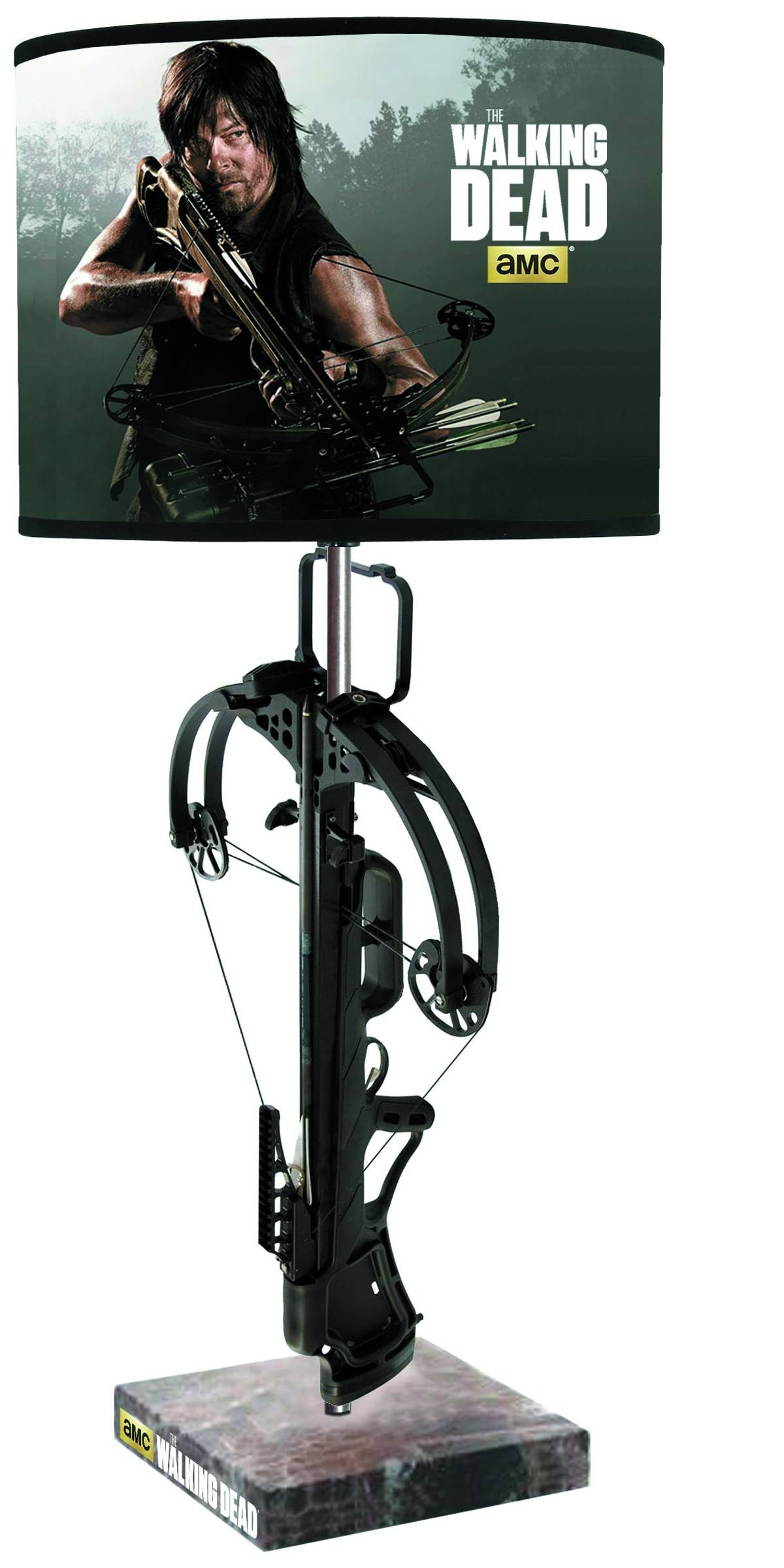 WALKING DEAD CROSSBOW TABLE LAMP