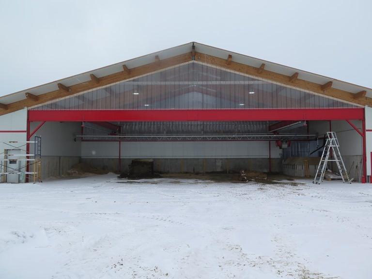 2016 Mirabel, QC - Robot dairy barn
