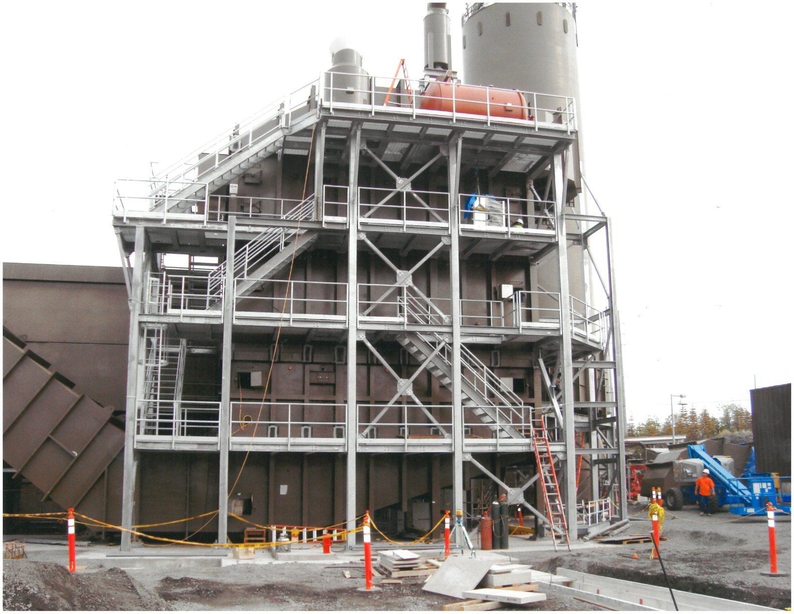 Power Plant Structural Work (Hawaii)