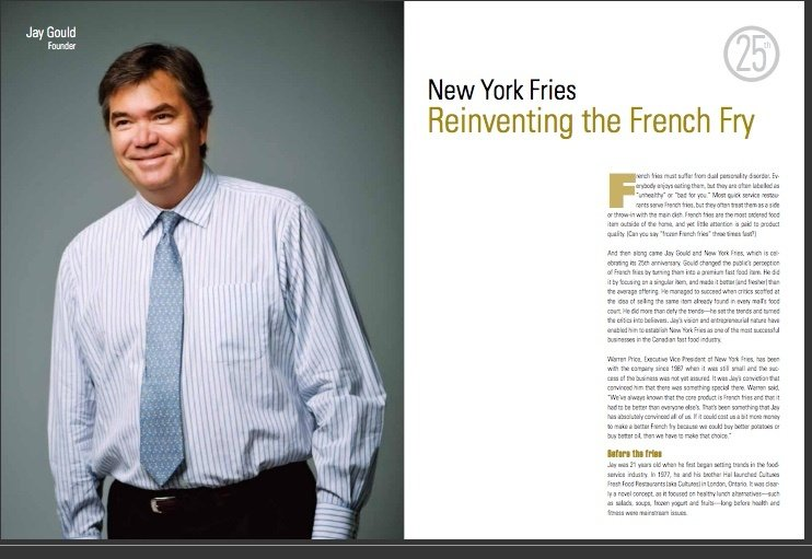 Profile Magazine - New York Fries - Reinventing the French fry