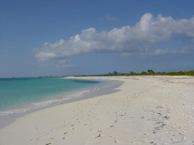 PLANA CAYS BEACH TURKS & CAICOS, NO TAN LINES HERE