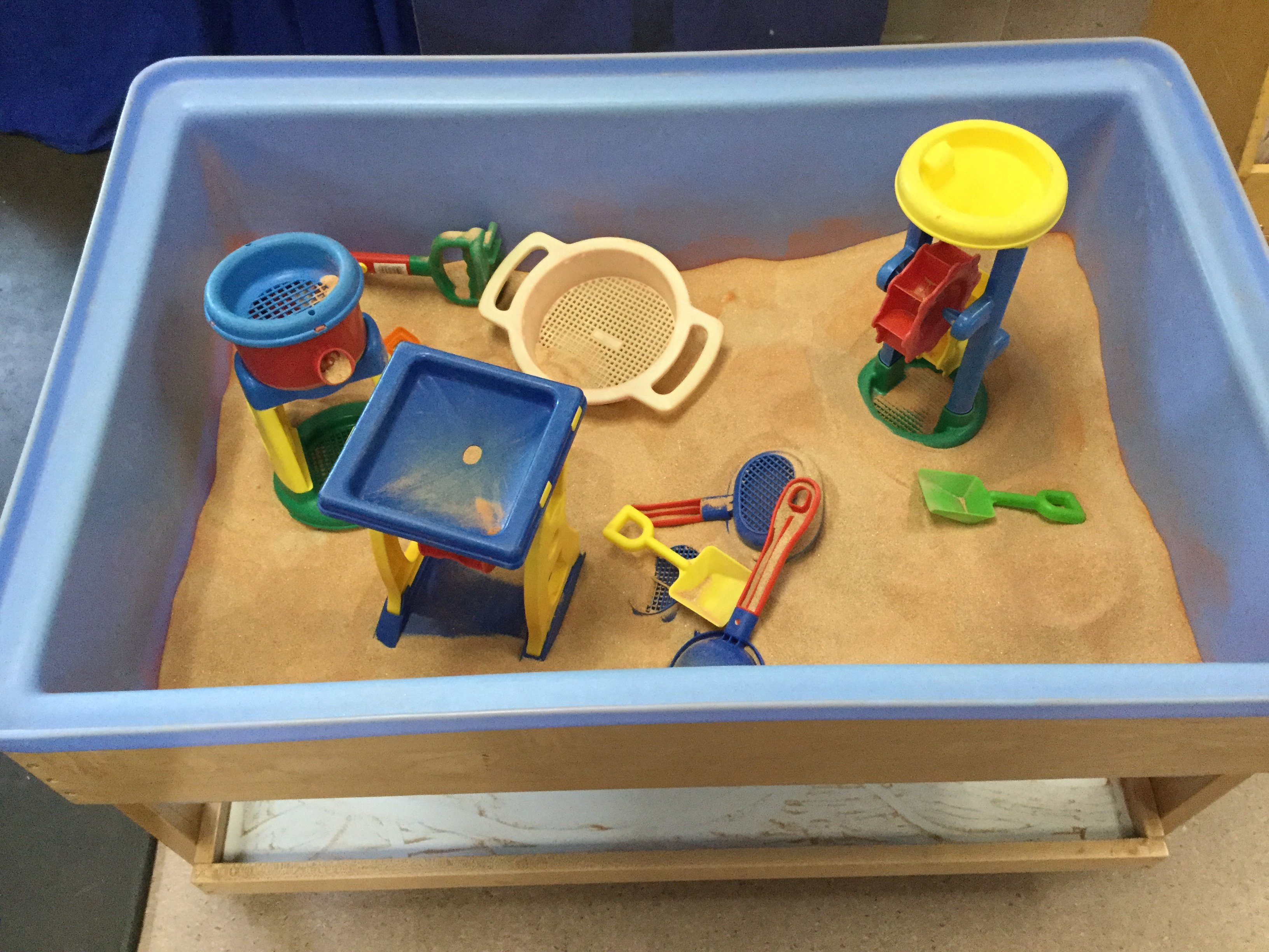 Blue Room - Sand Play