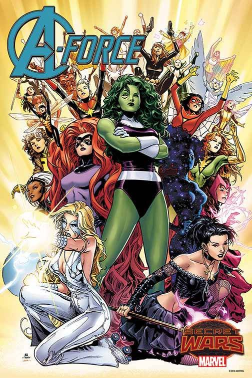 A-FORCE #1 BY CHEUNG POSTER