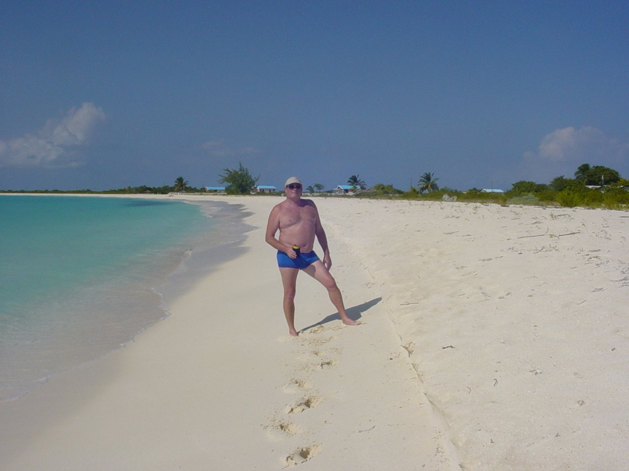BEST BEACH EVER IN BARBUDA, DIDN'T REALLY NEED THE SUIT!