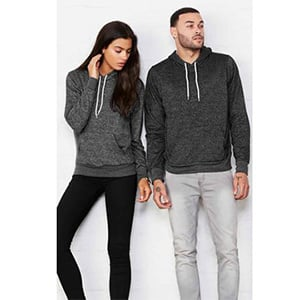 Bella + Canvas  Poly-Cotton Fleece Hoodie