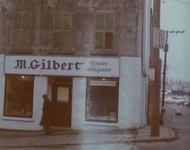 Boutique Côte du Palais et coin St-Vallier