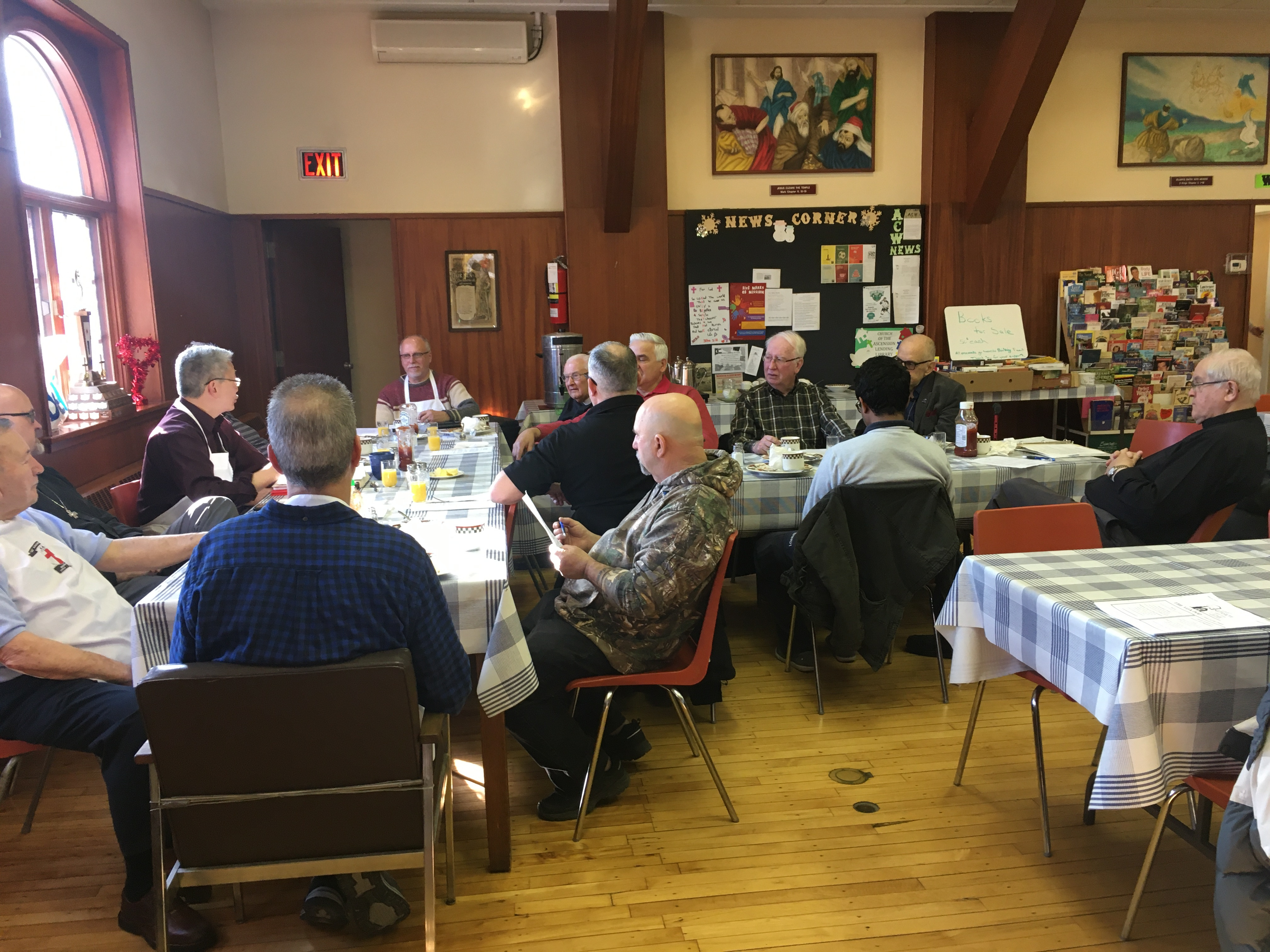 March 8th, 2020 Brotherhood of Anglican Churchmen breakfast meeting, chaired by President Perry