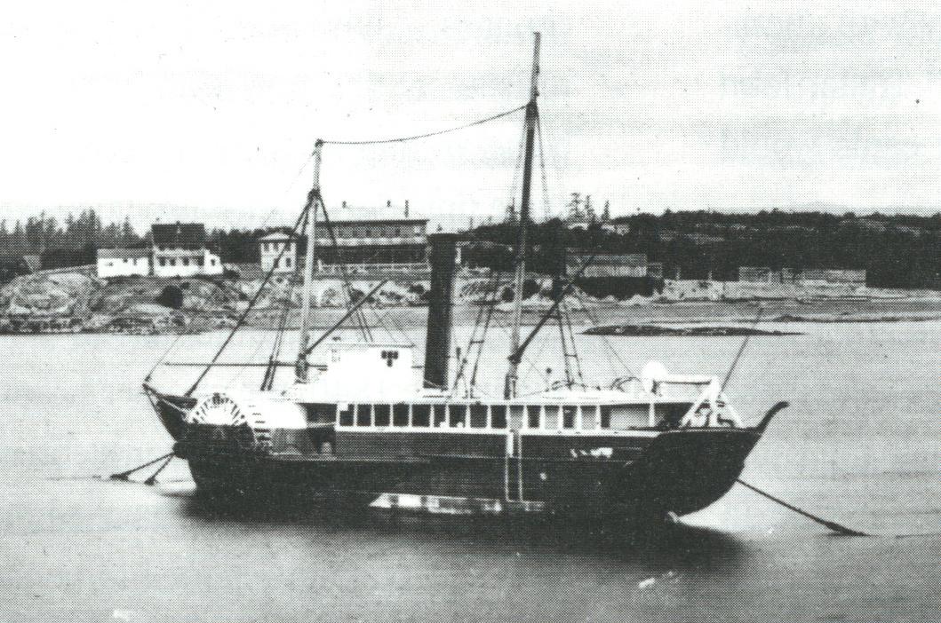 S.S. Beaver - Victoria Harbour 1871