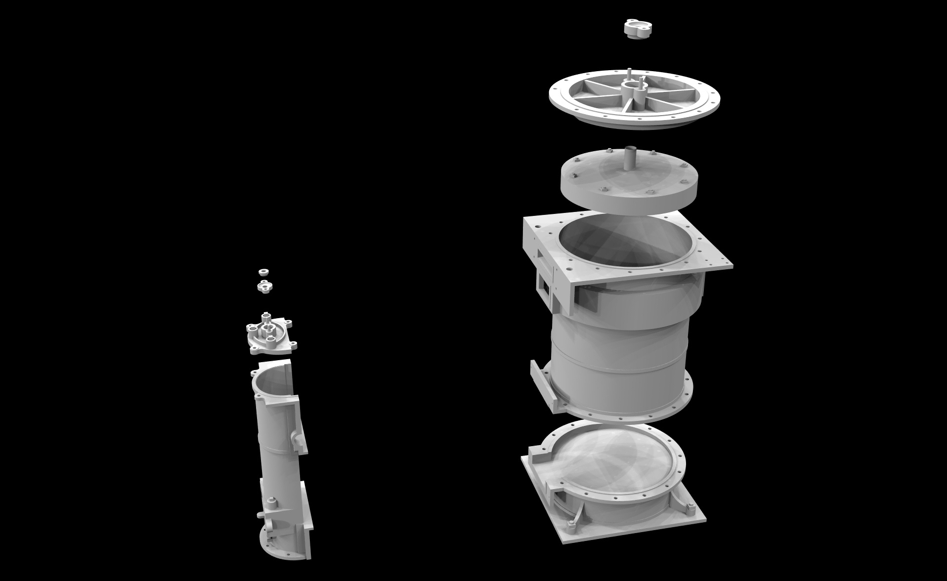 S.S. Beaver - Cylinder & Slide Valve