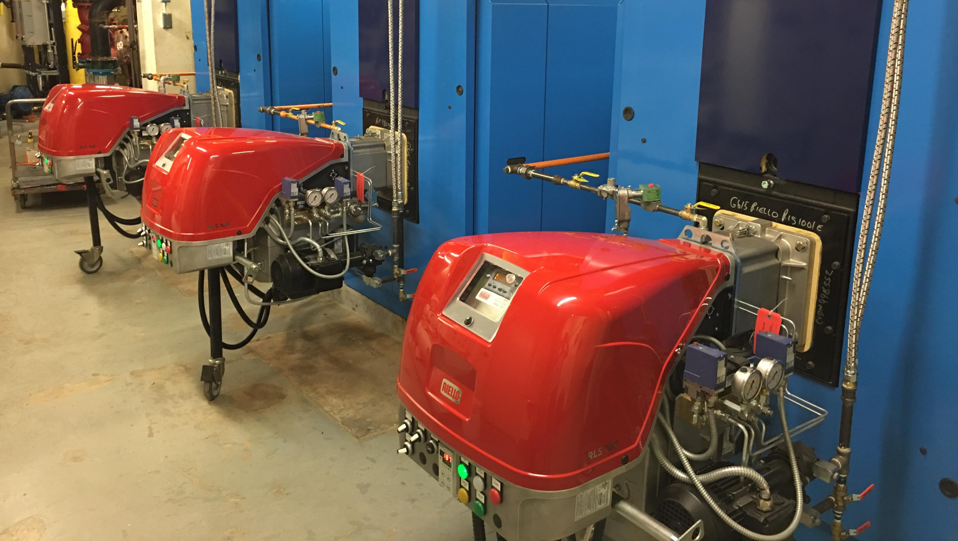 AHS-Vulcan Hospital-Riello RLS Dual Fuel Burners