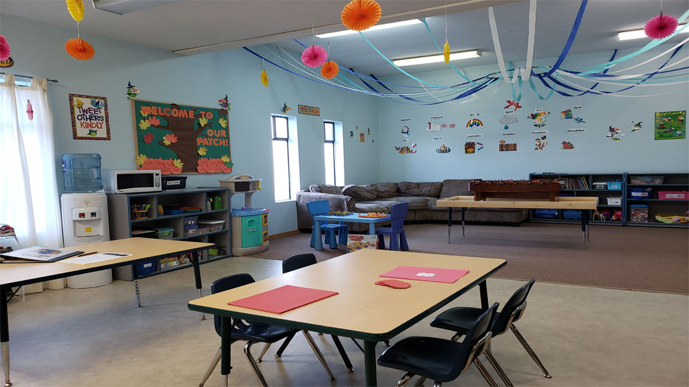 Gr 2-3 program room Oct 2019