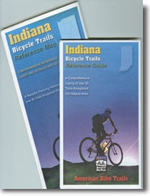 Indiana Trails Map & Guide Set