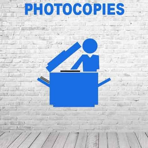 Photocopies couleur • Impressions numériques
