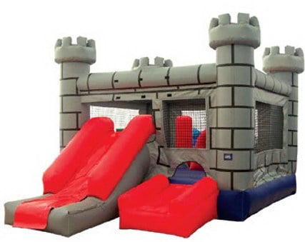 Old Castle Combo  3 Hr. Rental is $180.00 plus taxes $203.60 total Extra Hr. $60.0 plus taxes