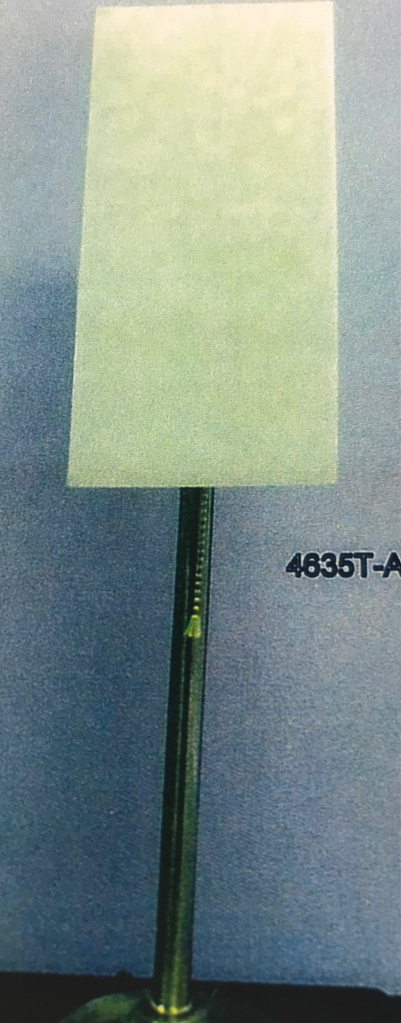 4635T Table Lamp Made in Canada Available in Antique Brass  or Brushed Chrome Regular Price $155.99 Sale Price $109.99