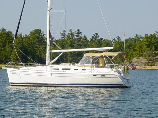 ANOTHER BEAUTIFUL ANCHORAGE FOR DAUPHIN IN GEORGIAN BAY