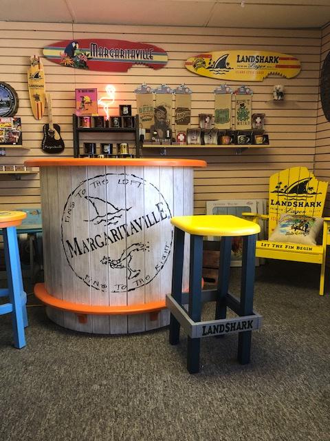 Margaritaville Corner at Cottage Fever