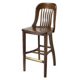 Principal Barstool, wood seat