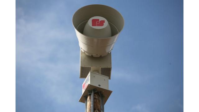Federal Signal Warning Siren
