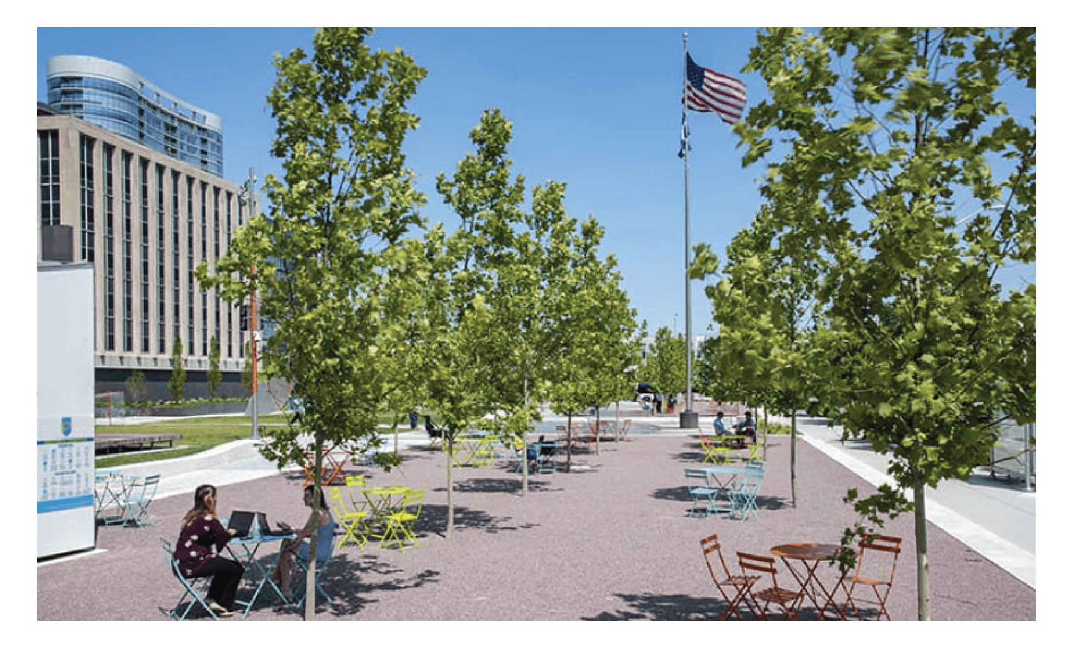 Richard G Lugar Plaza in Indianapolis, IN