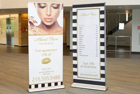 Retractable Banners on GoSexy.CA