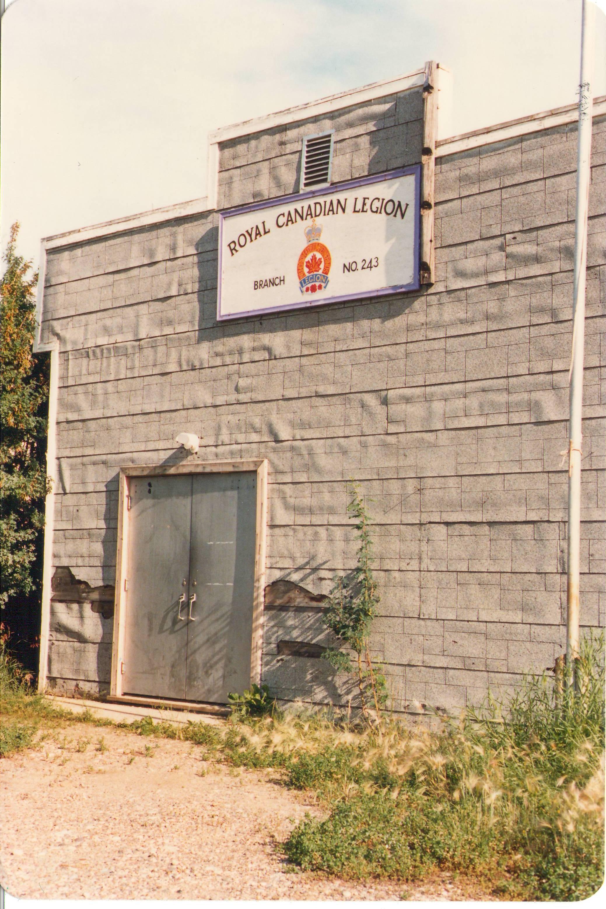 Legion Building in 1987.
