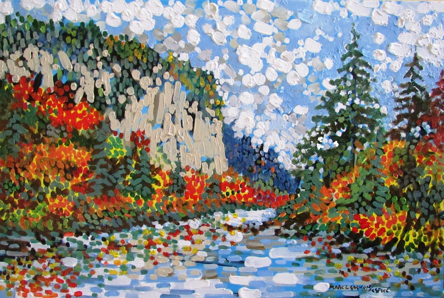 A Fine Day in Agawa Acrylic