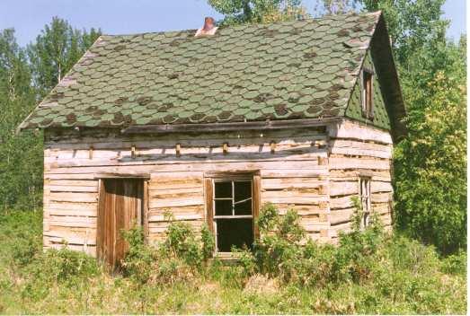 "John ""Dorie"" Lambert Cabin Built in the late 1800's by John Lambert Sr. Photo Credit: Marilee Cranna Toews"