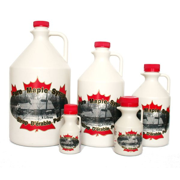 Pure Maple Syrup  - Jugs (Plastic)