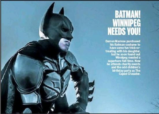 Batman! Winnipeg Needs You!