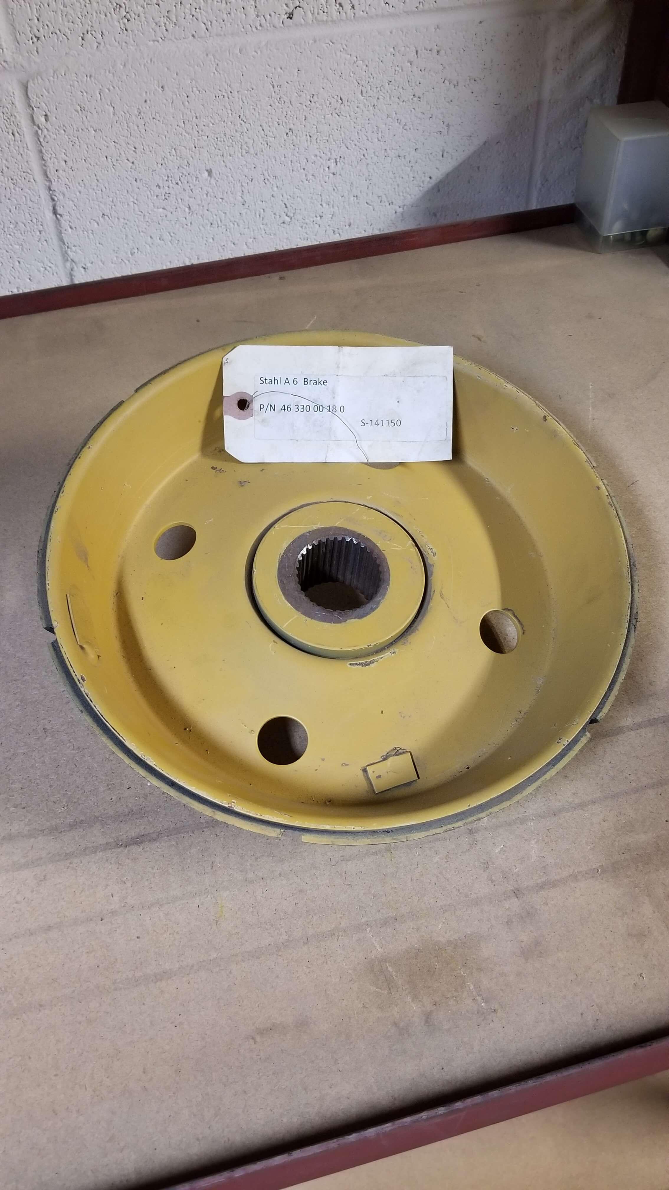 Stahl A6 Brake Disc  P/N: 46 330 00 180  $2650.00
