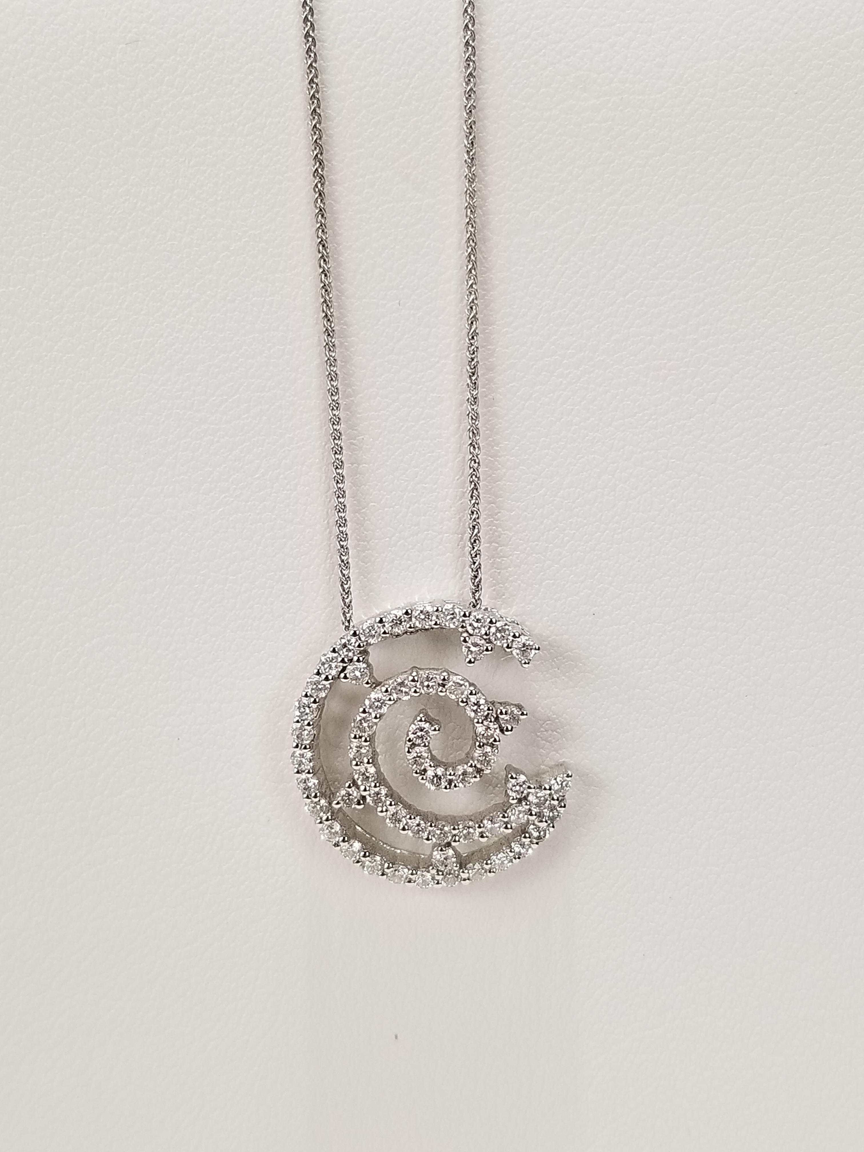 18K White Gold Diamonds 0.80ct Regular Price $4550 SALE $1250 Ref BK643