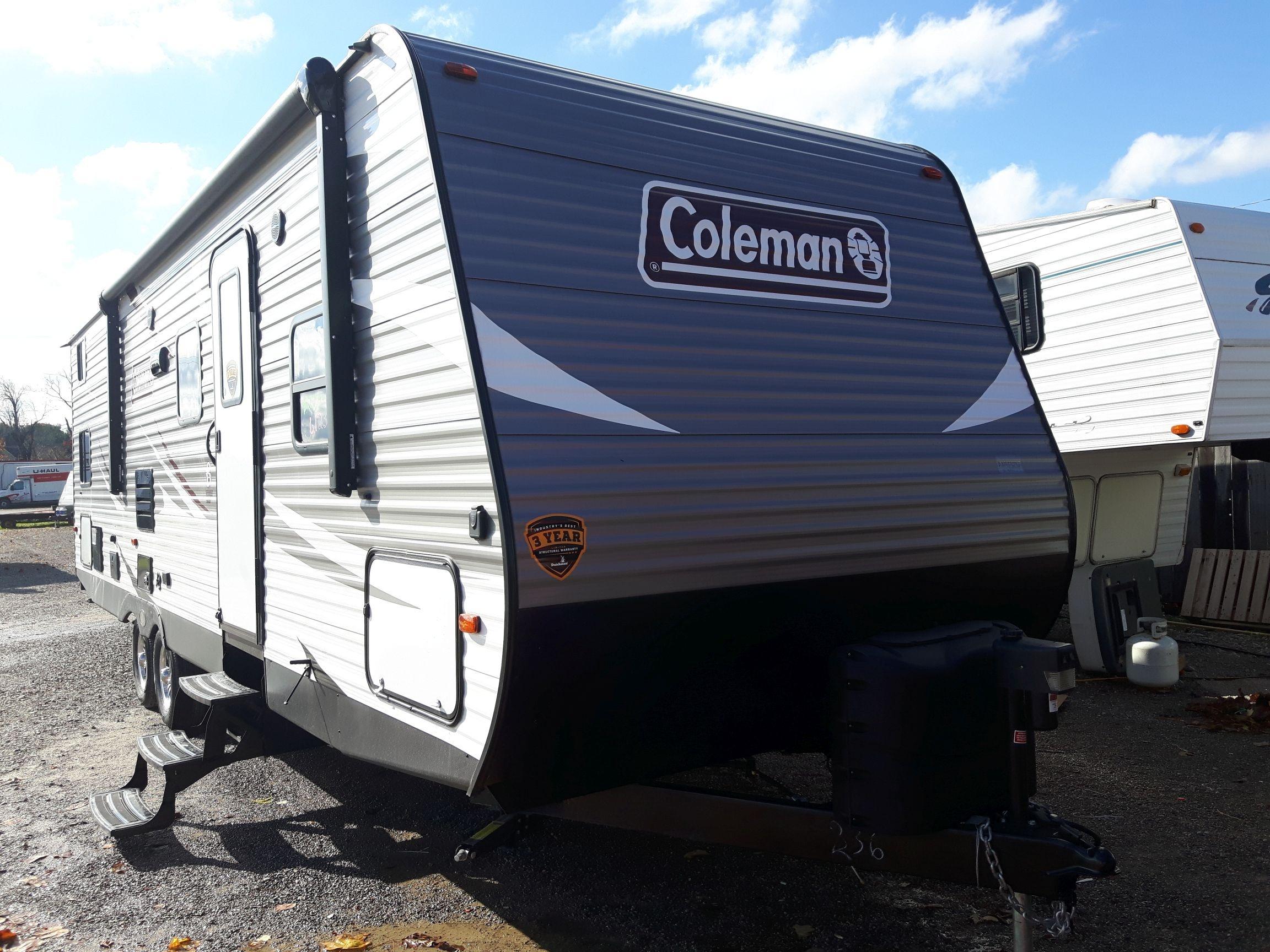 Coleman Lantern travel trailer