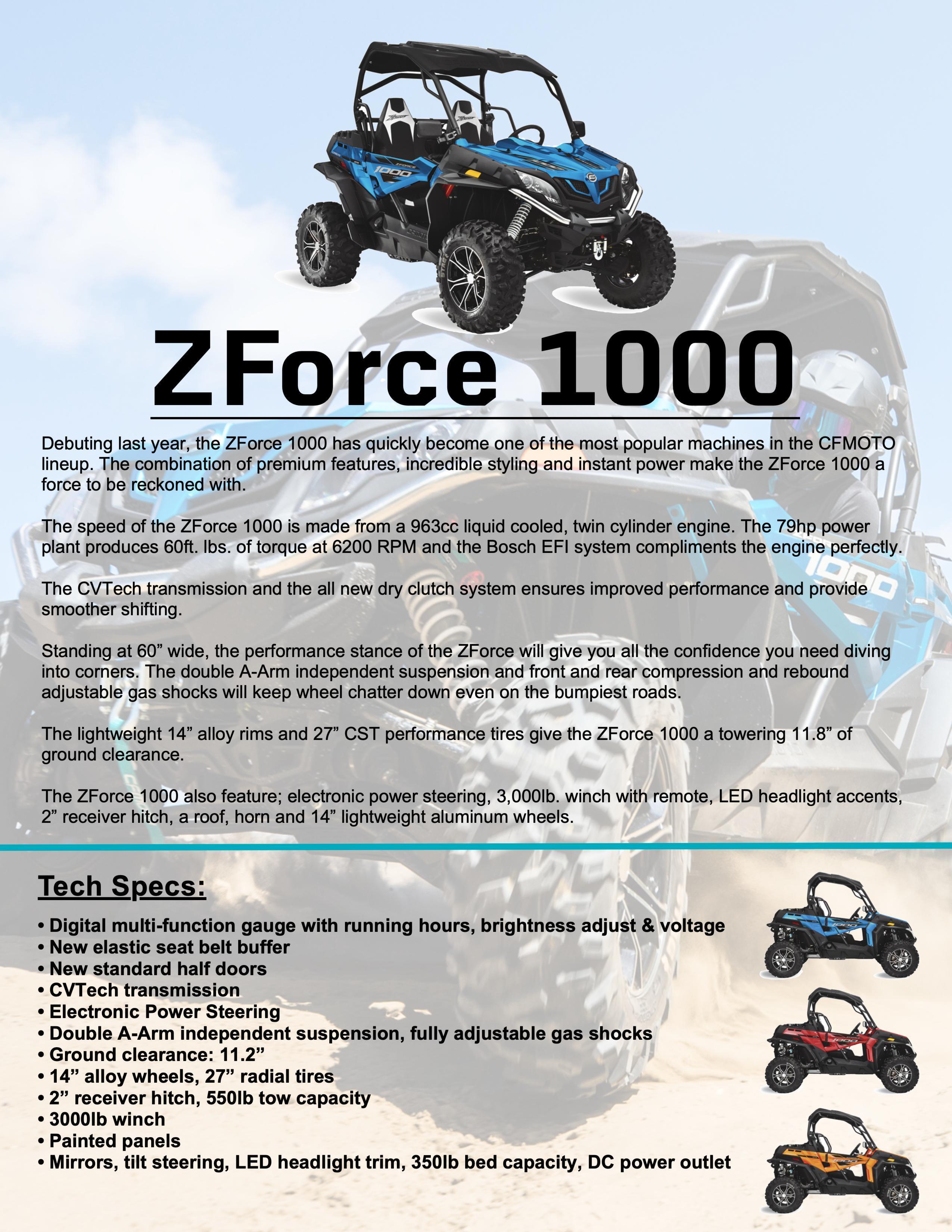 ZFORCE 1000
