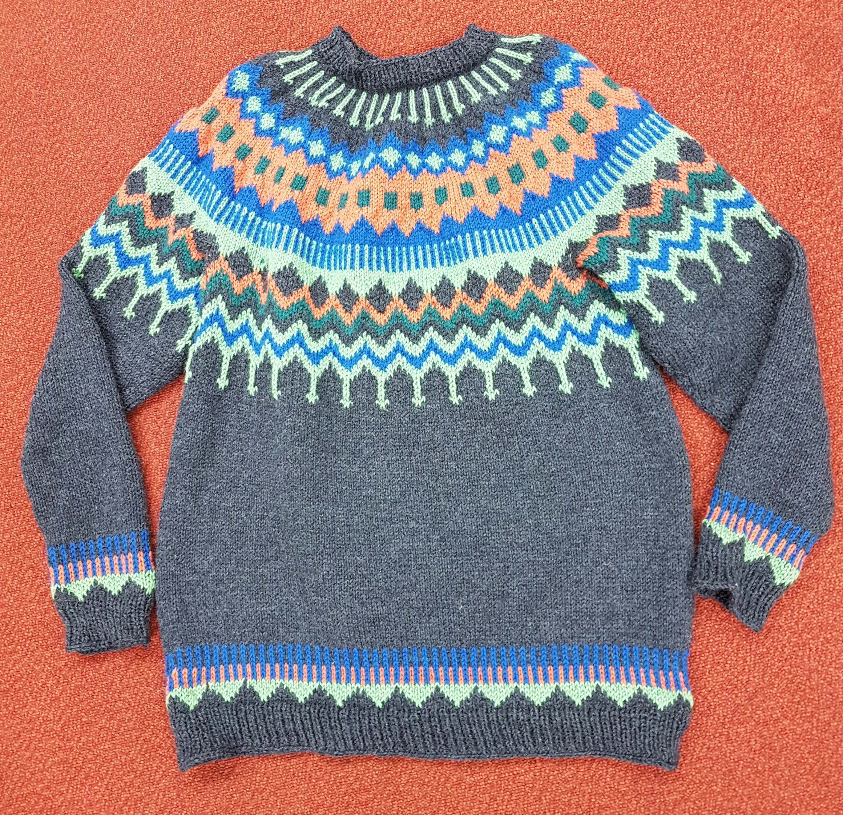 Dad's sweater