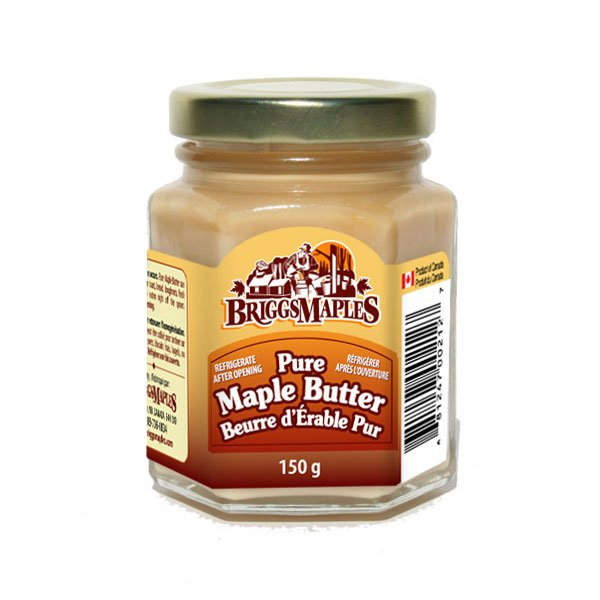 Pure Maple Butter - glass jar