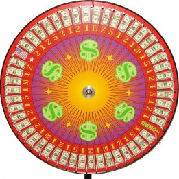 Big 6 Money Wheel with betting table